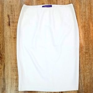 Ralph Lauren purple label wool pencil skirt